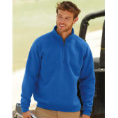 Zip Neck Raglansweat