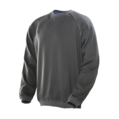Jobman 5122 Roundneck sweatshirt do.grijs  xxl
