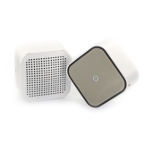 The Square Stereo Set Silver