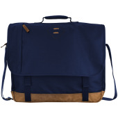 "Chester 15,4"" laptop schoudertas - Navy"