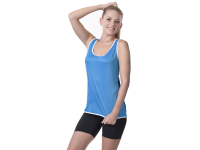Ladies Contrast Sports Vest