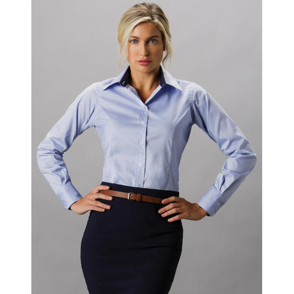 Women's Tailored Fit Premium Contrast Oxford Shirt