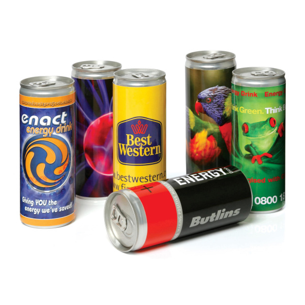 UK Stock Energy Drink - 250ml Can