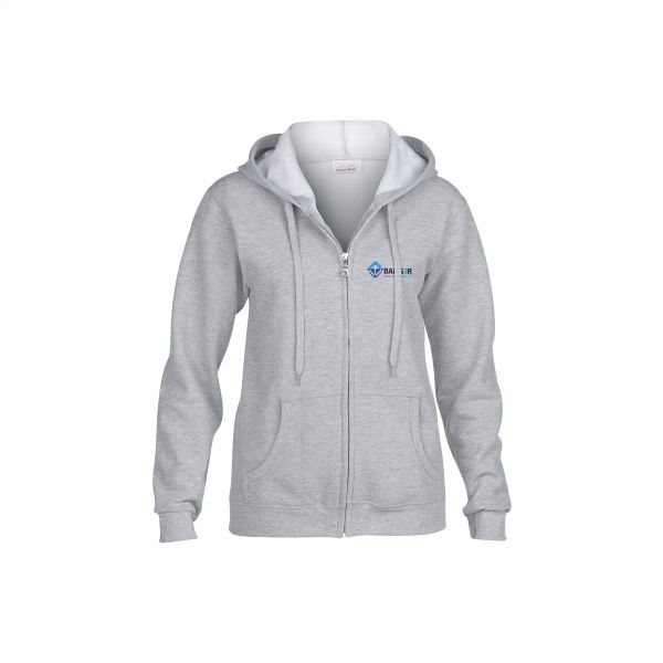 Gildan Heavyblend Hooded Full-Zip Sweater dames jack