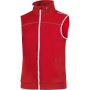 Leisure Vest Men Bright red m