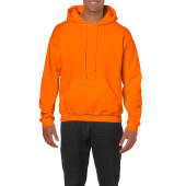 Gildan Sweater Hooded HeavyBlend for him Safety Orange XXL
