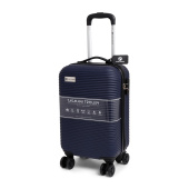 Cabin Size Norländer Tasmani Trolley with Brakes Navy Blue