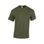 Heavy cotton™classic fit adult t-shirt military green 3xl