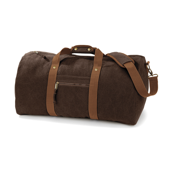 Vintage Canvas Holdall
