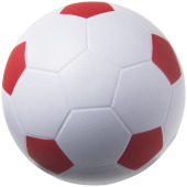 Football anti-stress bal - Rood/Wit