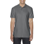 Gildan Polo Softstyle Double Pique SS for him Charcoal 3XL