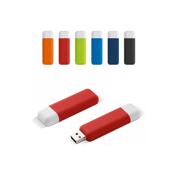 Modular USB stick 8 GB soft touch toplaag