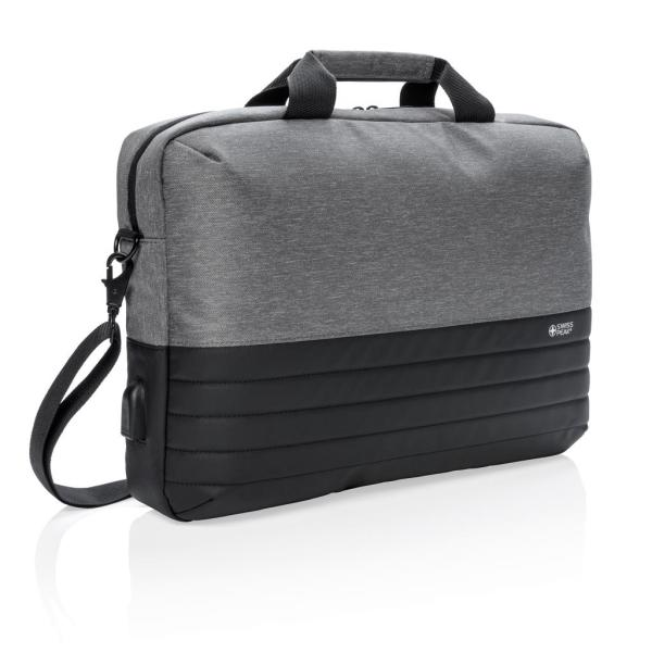 "Swiss Peak RFID 15.6"" laptoptas PVC-vrij"