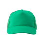 5 Panel Cap One Size Green