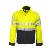 6407 PADDED JACKET HV YELLOW/BLACK Cl.3 L