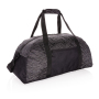 AWARE™ RPET Reflective weekend bag, black