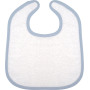 Babyslab white / sky blue one size