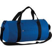 Cilindervormige reistas royal blue / black one size