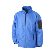 Men's Windbreaker - royal/zwart