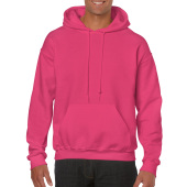 Gildan Sweater Hooded HeavyBlend for him Heliconia XXL