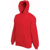 Classic hooded sweat (62-208-0) red l