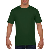 Gildan T-shirt Premium Cotton Crewneck SS for him Forest Green S