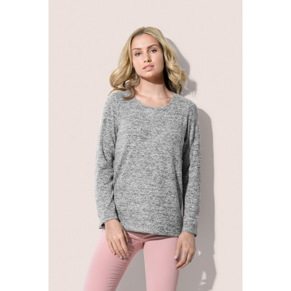 Stedman Sweater Knit Melange for her