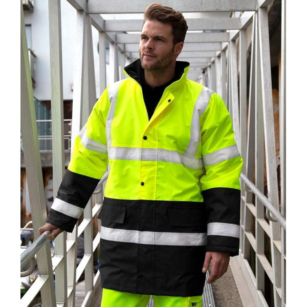 Motorway Two Tone Safety Jacket