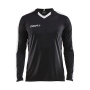 Craft Progress contrast jersey LS men black/white xs