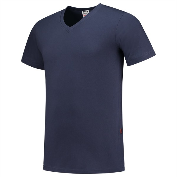 T-Shirt V Hals Slim Fit