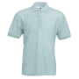 65/35 Pique Polo, Heather Grey, 3XL, FOL