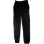 Classic elasticated cuff jog pants (64-026-0) black s