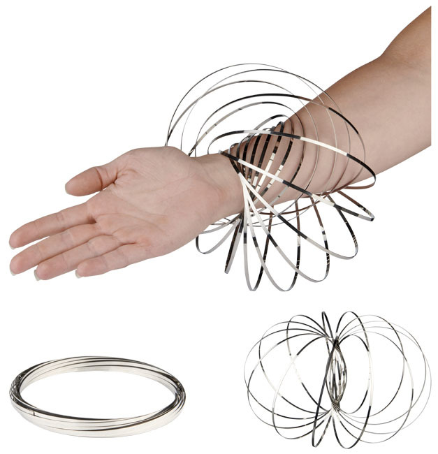 Flow ring - Zilver