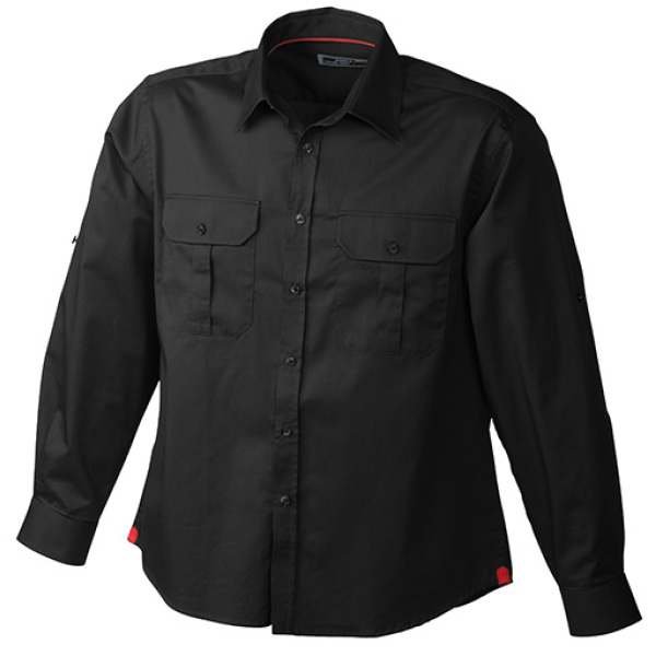 Men's Travel Shirt Roll-up Sleeves