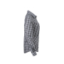 Ladies' Checked Blouse grafiet/wit