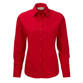 Ladies' Cotton Poplin Shirt LS
