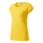 Fusion T-shirt Ladies yellow melange 2XL