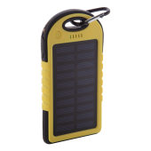 Lenard - USB power bank met zonne energie lader