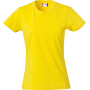 Clique Basic-T Ladies lemon xxl
