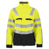 PROJOB 6415 JACKET HV YELLOW/BLACK XXL