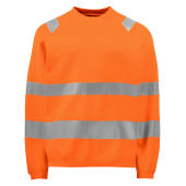 Projob 6106 SWEATSHIRT ORANGE 4XL