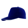5-panel sandwich cap WALK - donkerblauw