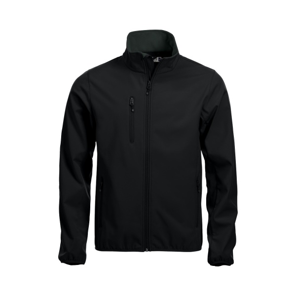 Bedrukte Basic Softshell Jacket