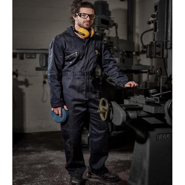 Redhawk Zip Front Coverall