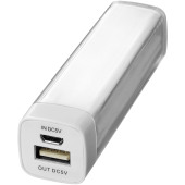 Flash powerbank 2200 mAh - Wit