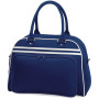 Retro bowling bag french navy / white one size