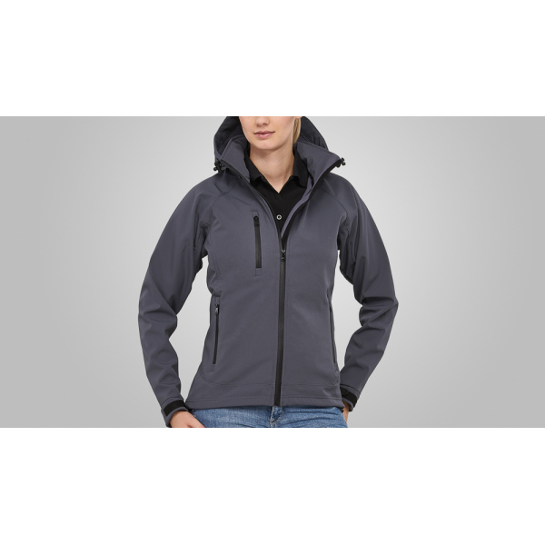 Macseis Jacket Softshell Safari for her Grey