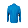 Men's Running Shirt - atlantisch/zwart