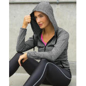 Women's Hooded Tee-Jacket