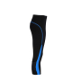 Ladies' Running Tights 3/4 zwart/atlatisch